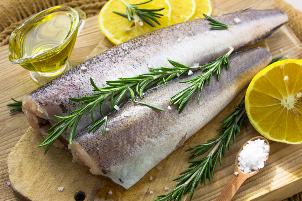 Cornish Hake with Rosemary