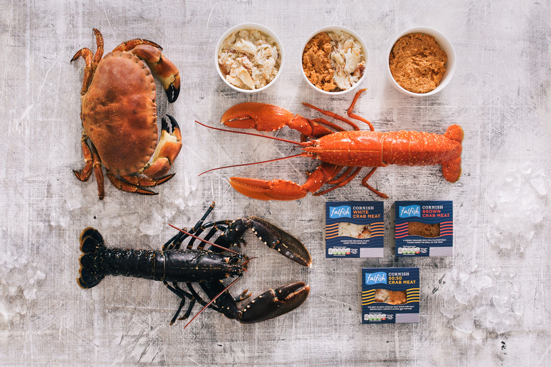 Crustaceans products from Fal fish