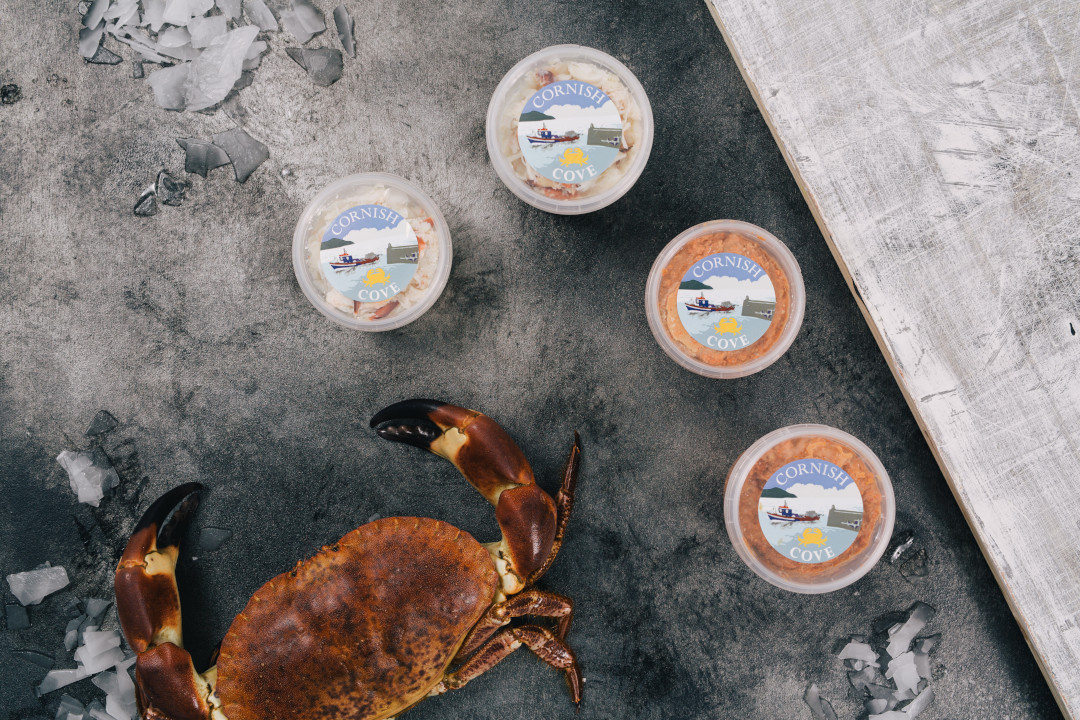 Cornish cove handpicked crab meat range1